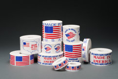 Flag Labels & Made in the USA Labels