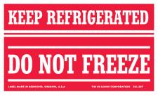 Keep Refrigerated Do Not Freeze